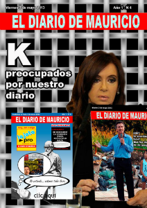 El Diario de Mauricio Número 4 - 3 de mayo 2013