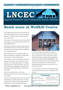 Ligoniel Newsletter and Community Events Calendar April 2013