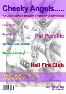 Cheeky Angels - Edition 1 January 2013