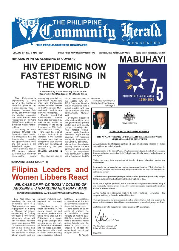 Philippine Community Herald Online Digital