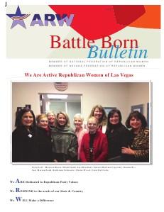 Battle Born Newsletter April, 2013