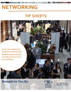The Business Career Centre - Tip Sheets Networking - Volume 2
