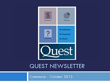Commerce Quest Newsletter