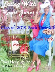 Eating With Knatt Jones July Issue