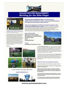 Elite Soccer Development Program in Italy Apr. 2013, vol 1