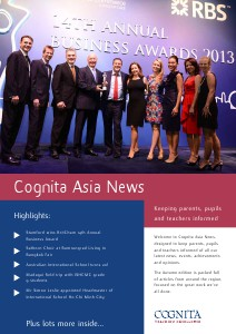 Cognita Newsletter October 2013