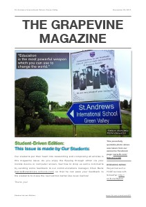 Student-Driven Issue