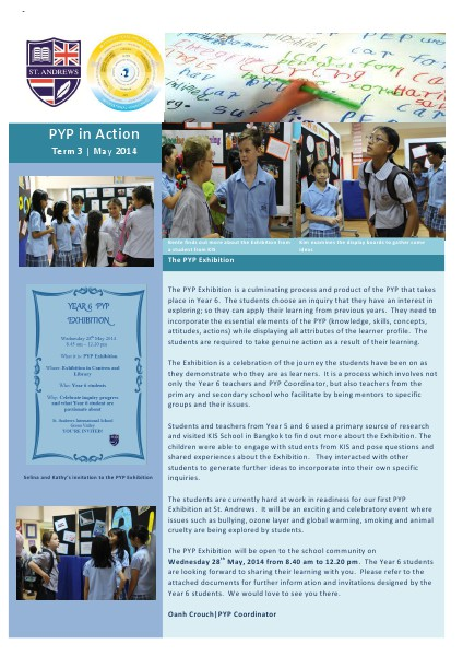 PYP in Action Newsletter Issue 9 [Eng]