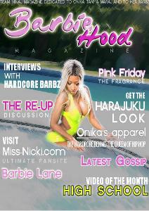 Barbiehood magazine August 2013