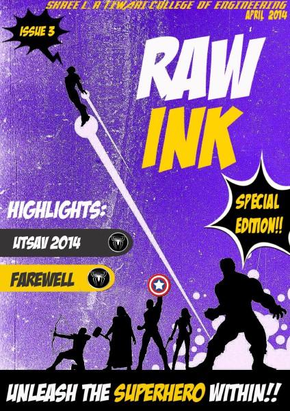 Raw Ink April 2014