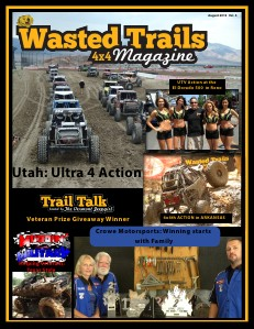 Wasted Trails 4x4 magazine August 2013 vol  4