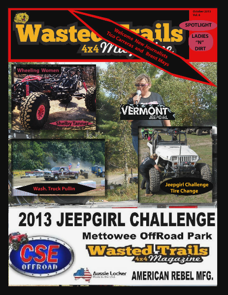 Wasted Trails 4x4 magazine October 2013 vol. 6