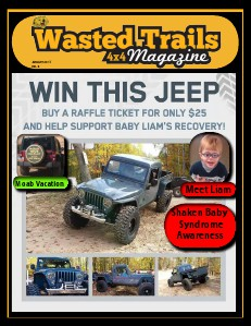 Wasted Trails 4x4 magazine January 2014 Vol 8