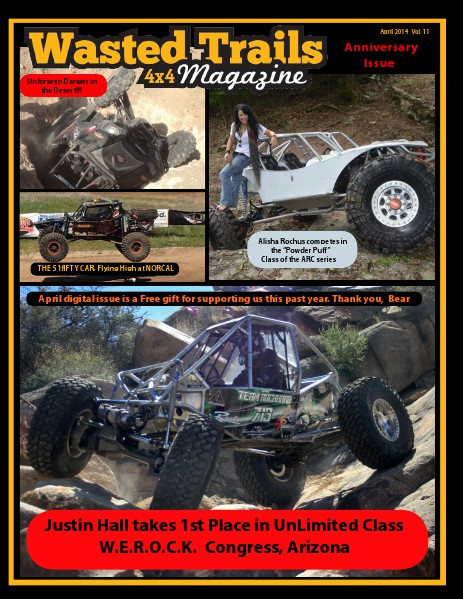 Wasted Trails 4x4 magazine April 2014 Vol 11