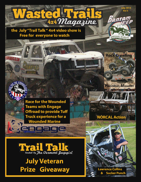 Wasted Trails 4x4 magazine Volume 3  July 2013