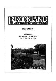 Brookland Village History