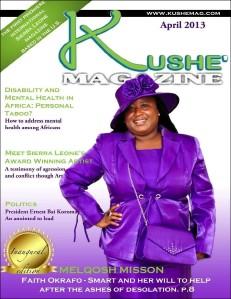 Kushe Magazine April 2013