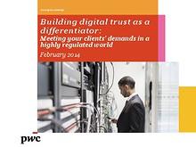 Building digital trust as a differentiator