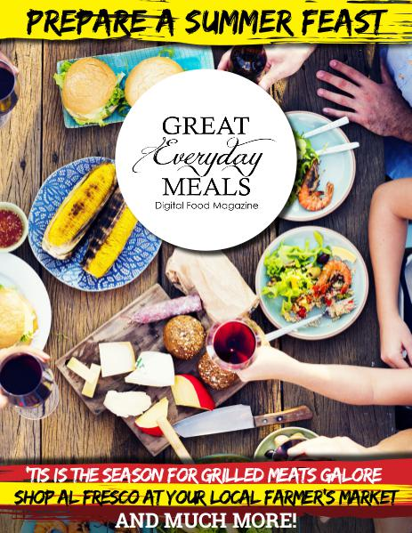 Great Everyday Meals Magazine | By Momma Cuisine Summer 2016