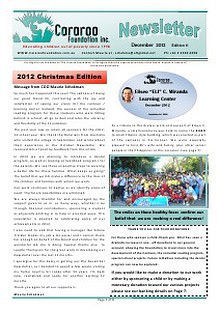 Cararoo Newsletter