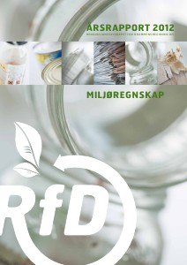 RfD Årsrapport 2012 Miljøregnskap