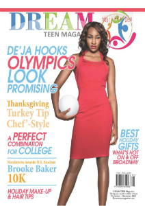 DREAM TEEN Magazine November | December Holiday 2013