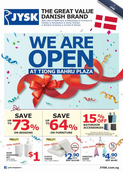 Opening Deals at Tiong Bahru