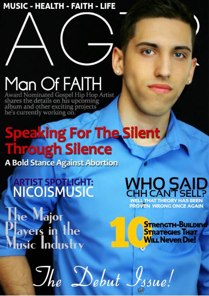 AGTR Magazine Debut Issue Vol.1 feat. Man Of FAITH
