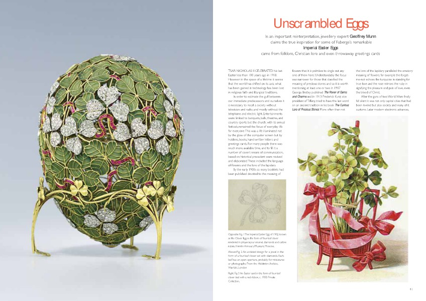 Unscrambling Fabergé Eggs