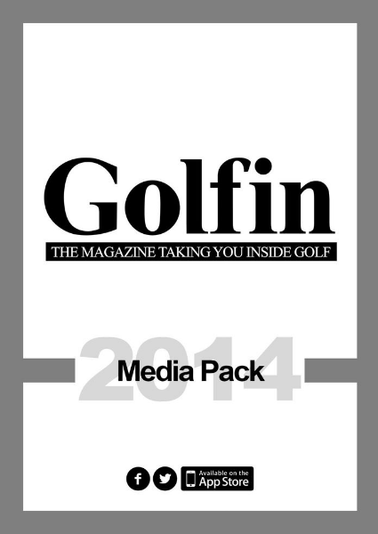 Golfin Mag Media Pack 2014