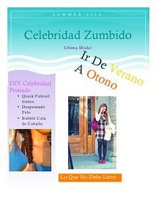 Celebridad Zumbido