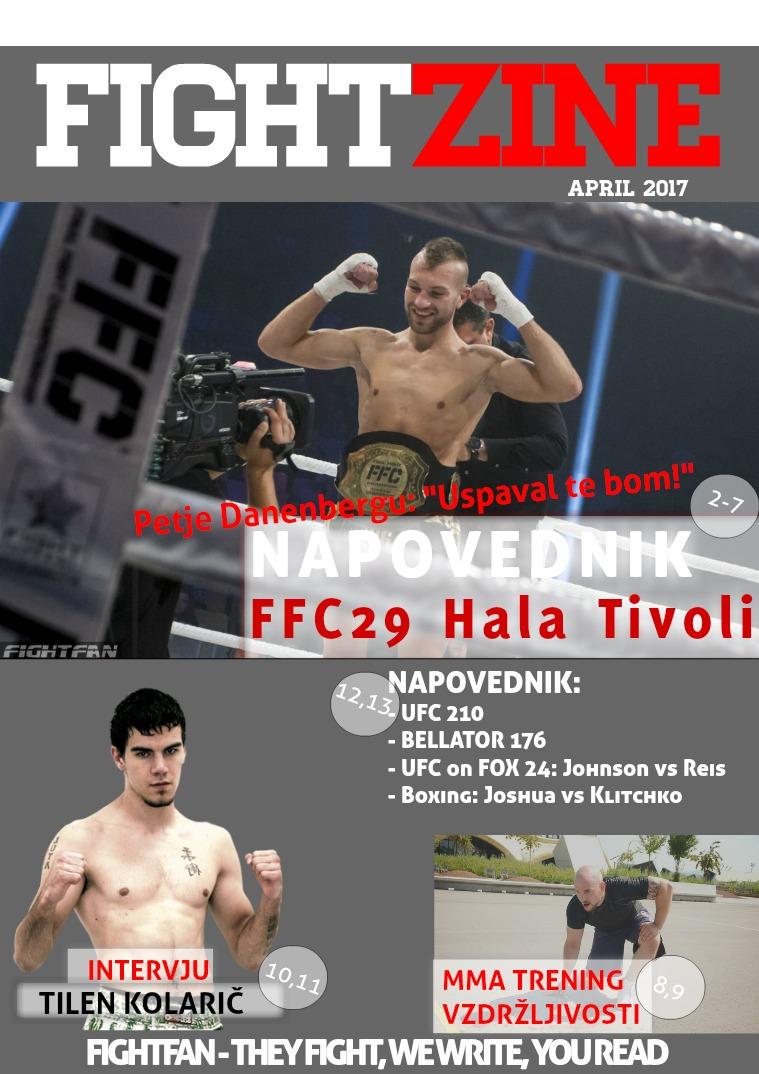 FightZine April 2017