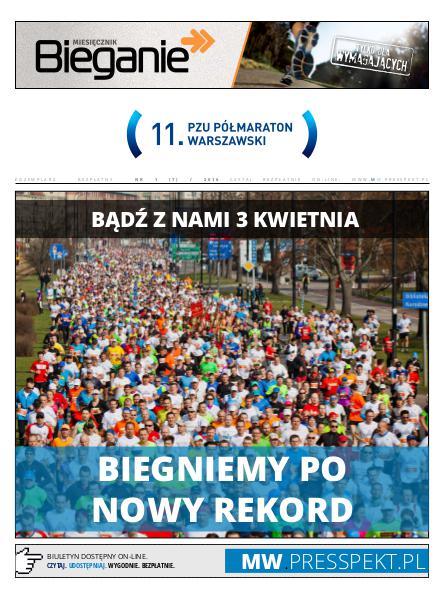 Biuletyn Maraton Warszawski MW 1 (7) / 2016