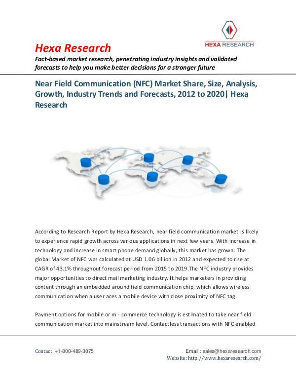 Technology Near Field Communication (NFC) Market Trends 2020