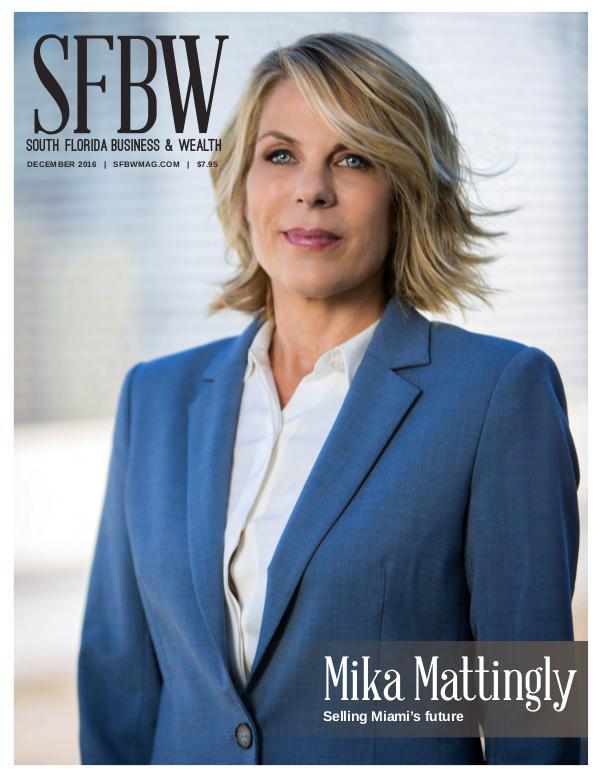 Selling Miami's future | Mika Mattingly | Colliers International Urban Core Division