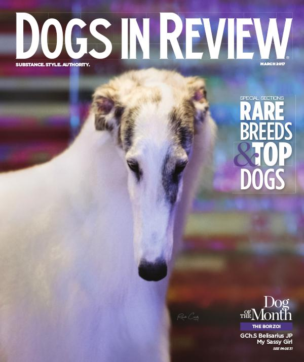 Dogs In Review Magazine March 2017