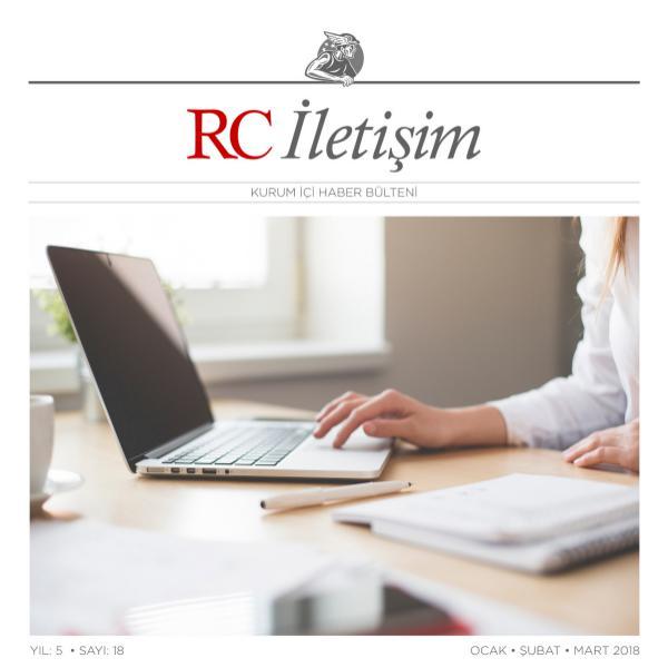 RC İLETİŞİM / SAYI: 18 RCILETISIM 18
