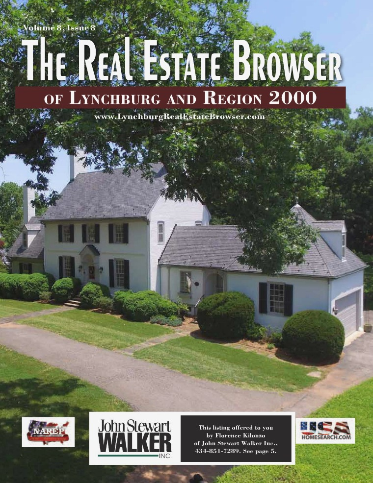 The Real Estate Browser Volume 8, Issue 8