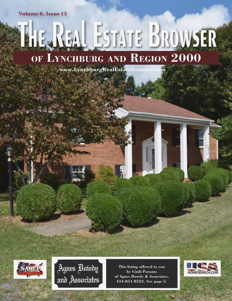 The Real Estate Browser Volume 8, Issue 13