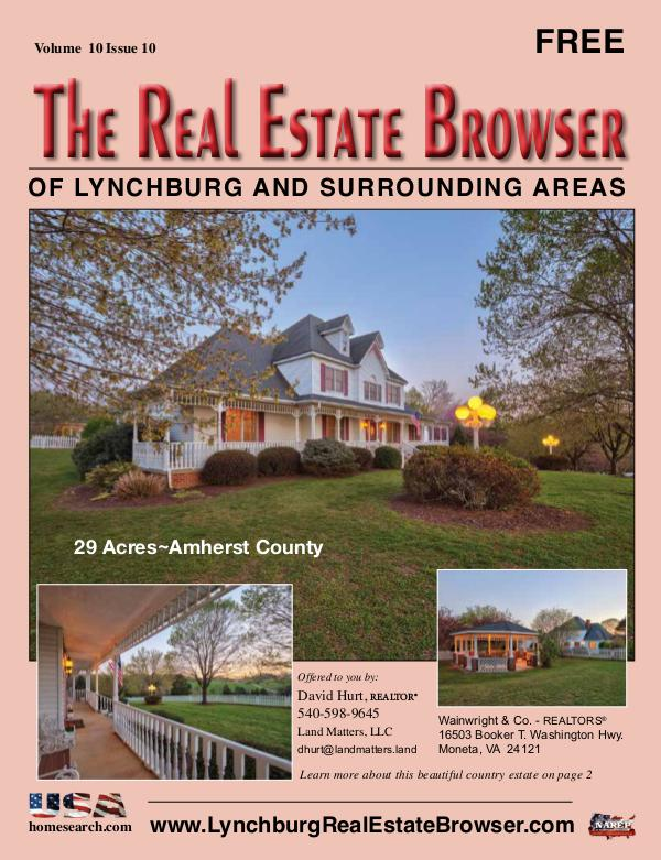 The Real Estate Browser Volume 10, Issue 10