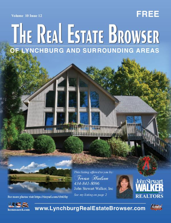 The Real Estate Browser Volume 10, Issue 12