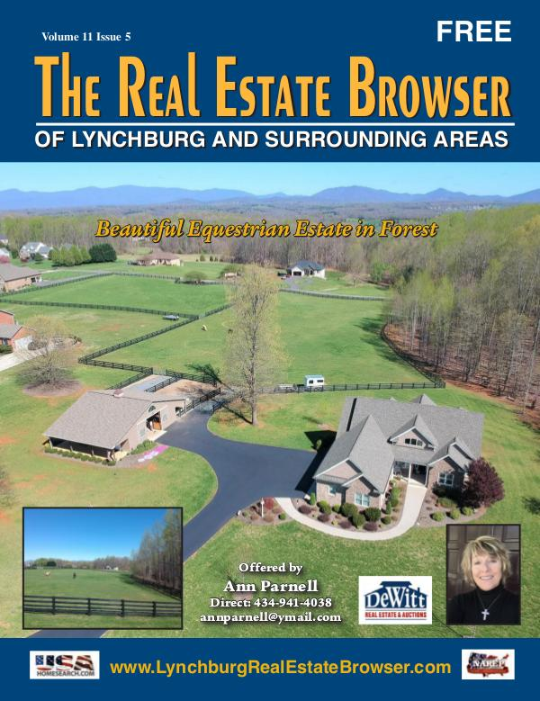The Real Estate Browser Volume 11, Issue 5