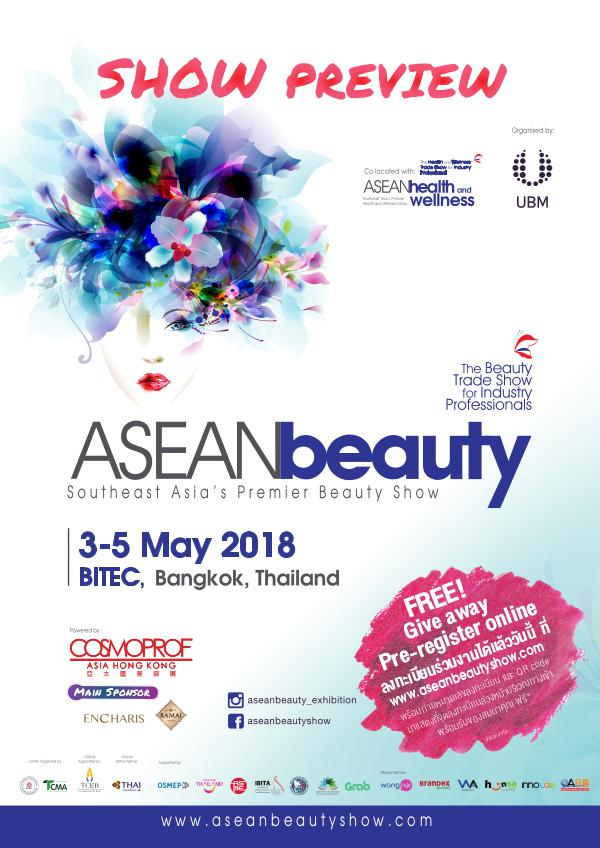 ASEANbeauty 2018 Show Preview ASEANbeauty2019 Show Perview