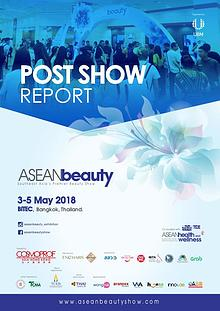 ASEAN beauty 2018 Post Show Report
