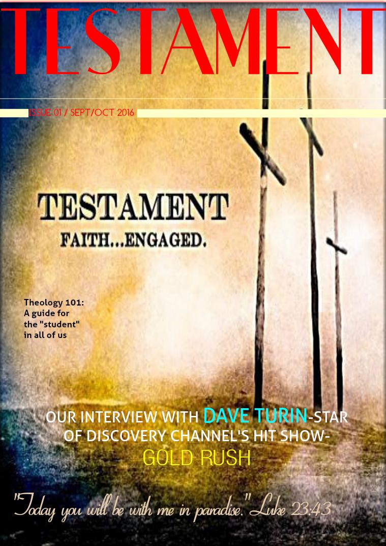 Testament Magazine 1
