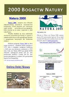 Natura - 2000 Bogactw natury
