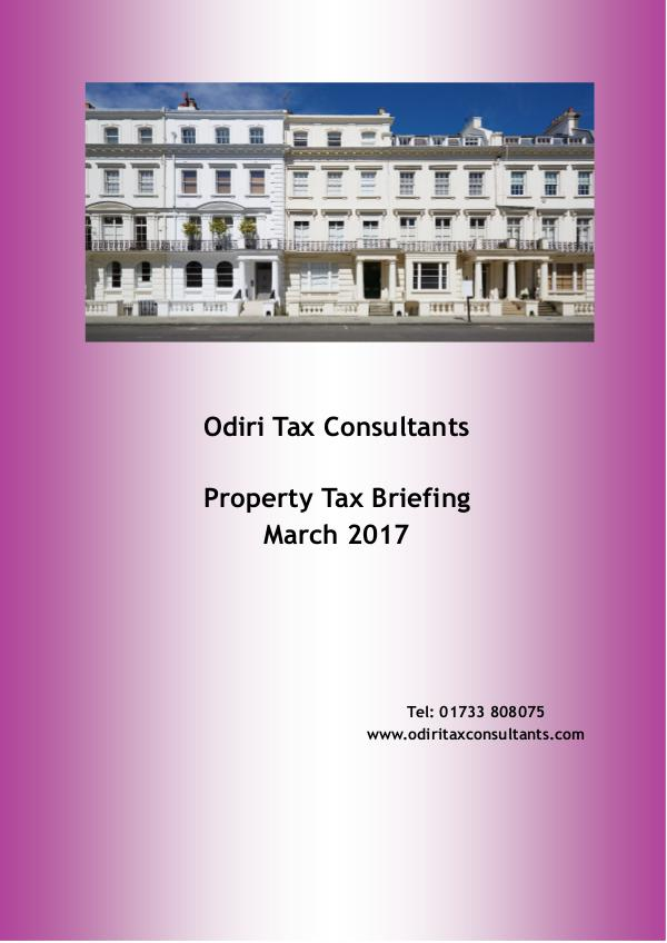 Property Tax Briefing