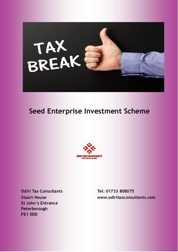 Seed Enterprise Investment Scheme January 2017