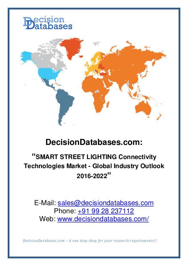 Smart Street Lightning Connectivity Technologies