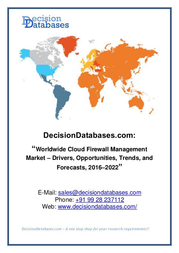 Cloud Firewall Management Market Share
